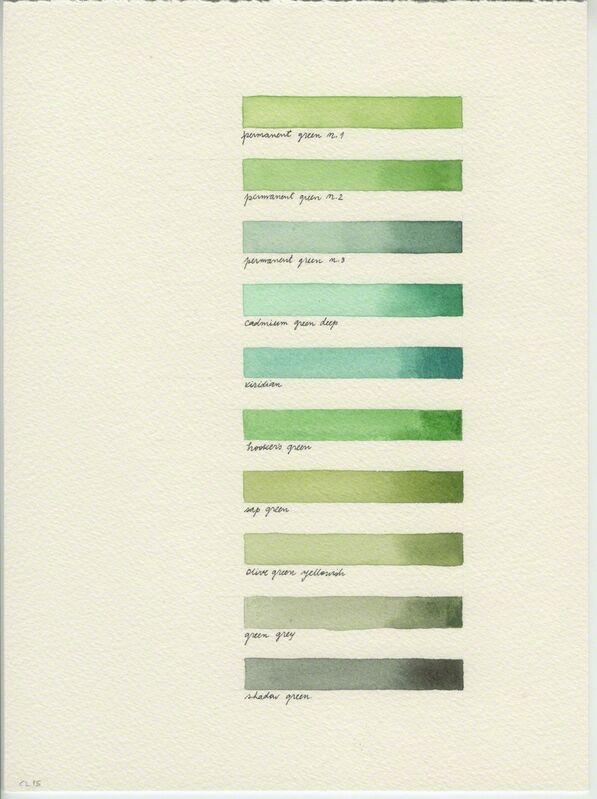 Catarina Leitão, 'Cadernos de Campo #7', 2015, Drawing, Collage or other Work on Paper, Watercolor, Carlos Carvalho- Arte Contemporanea