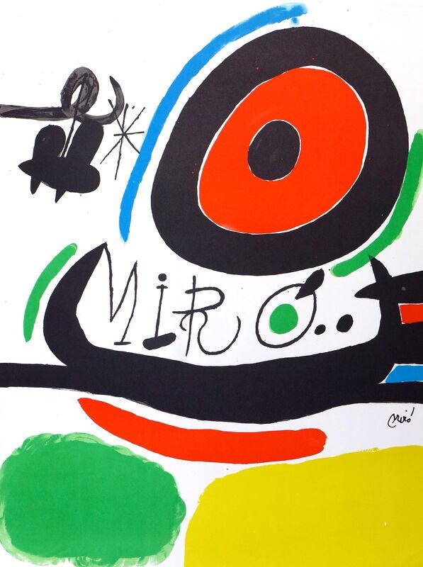 Joan Miró, 'Tres llibres', 1970, Print, Original color lithograph on Guarro paper, Samhart Gallery
