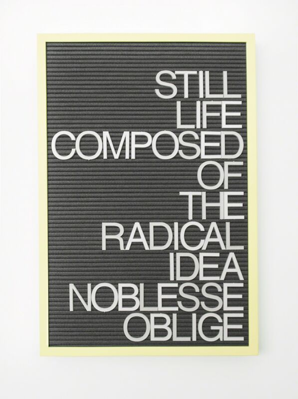 Maynard Monrow, 'Untitled / Noblesse Oblige', 2017, Sculpture, Mixed media, Gavlak