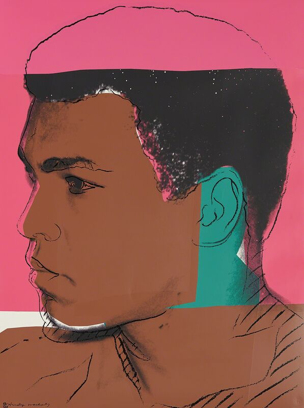Andy Warhol, 'Muhammad Ali', 1978, Print, Screenprint in colors, on Strathmore Bristol paper, the full sheet., Phillips