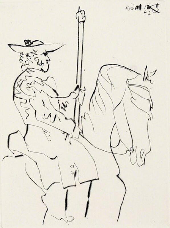 Pablo Picasso, 'Picador au Repos, from Le Carmen des Carmen', 1964, Print, Etching, Dawson Cole Fine Art