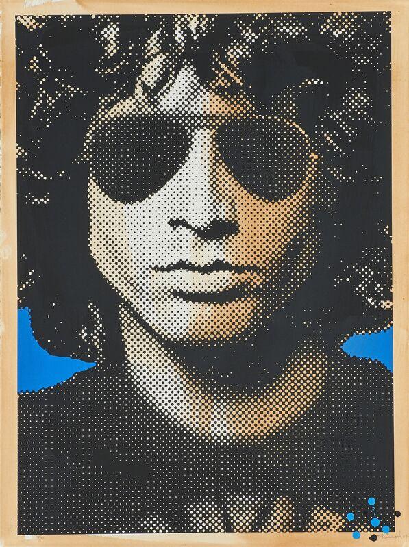 Mr. Brainwash, 'Jim Morrison', 2007, Print, Screenprint in colors, Rago/Wright