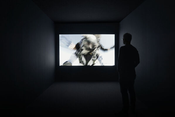 """Michael Najjar """"Outer Space"""", installation view"""