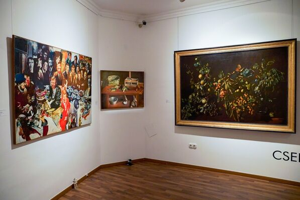 Tibor Csernus, installation view