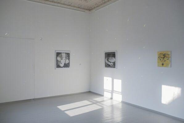 Adomas Danusevičius. Mud and Flowers, installation view