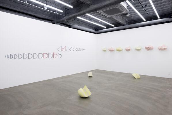 Tezukayama Gallery at Art Central 2017, installation view