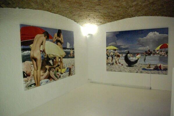 `Beachlife` Rolf Ohst & Tilmann Krumrey, installation view
