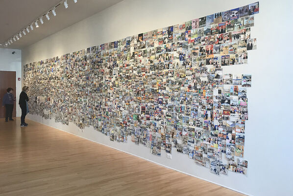 Elise Engler. Diary of a Radio Junkie: 1237 Days of Waking up to the News, installation view