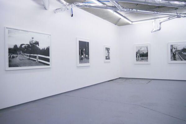 Scott Hunt 'God is an American', installation view