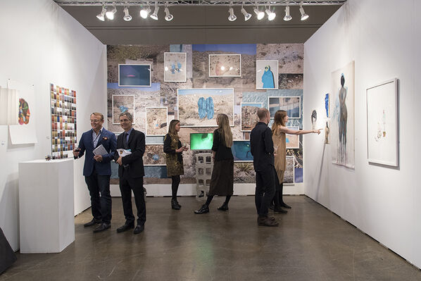Back Gallery Project at Art Toronto 2016, installation view