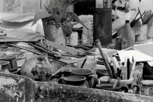 The Experience of Italian Abstractionism of the 20th Century. Corpora, Cascella, Vacchi, Boille, Mariani, Moreni, Bendini, Saetti, Meloni, Pace, Sadun, Scordia. Photography by Gianni Berengo Gardin. Milano, EXPO, installation view