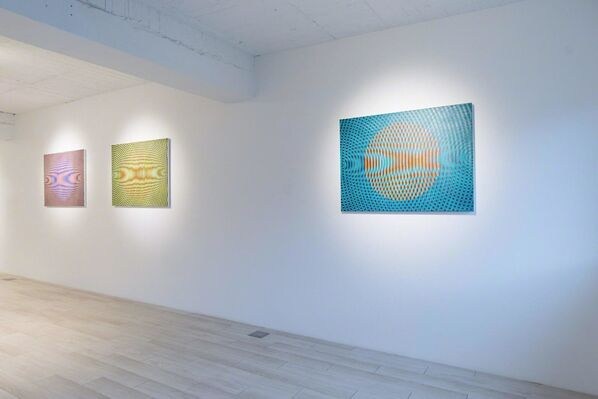 'Circulation' Group Show, installation view