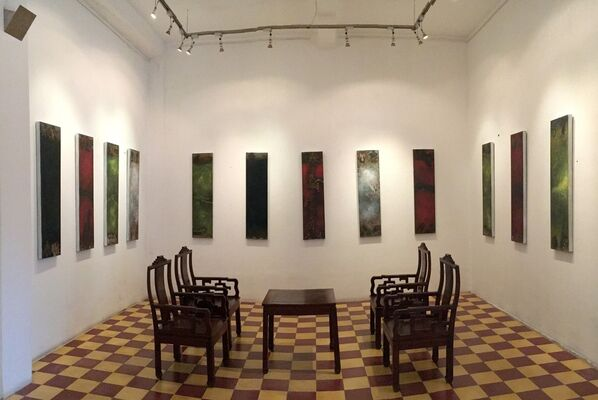 Mid Autumn Night - Solo Exhibition - Artist Chinh Le, installation view