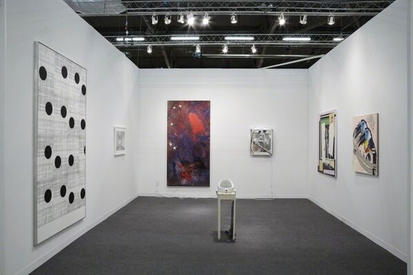 Michel Rein Paris/Brussels at The Armory Show 2016, installation view