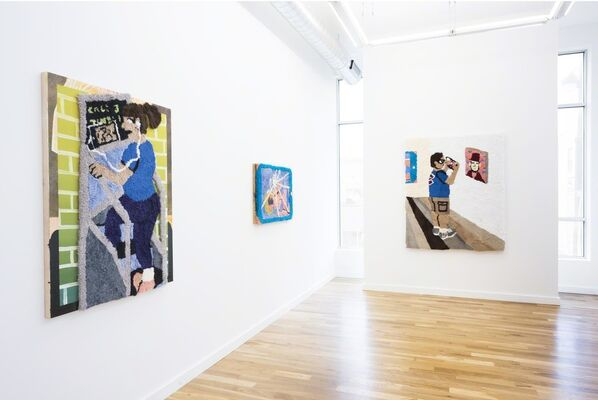 who dis, installation view
