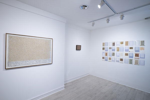 Microscripts and Melted Matters, installation view