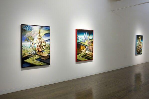 Weltlandschaft, installation view