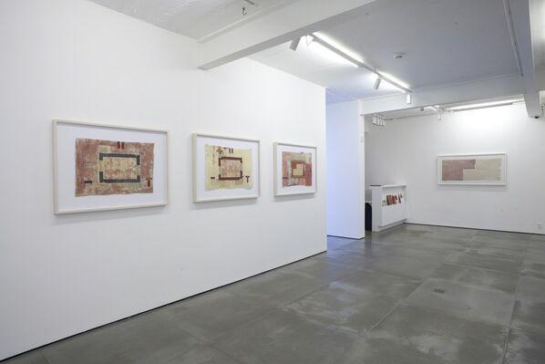 Papéis do Nepal 1977-1986, installation view