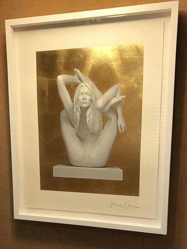 Marc Quinn, 'Sphinx (Gold Leaf)', 2011, Print, Screenprint on 410 gsm Somerset Tub paper., Fine Art Mia