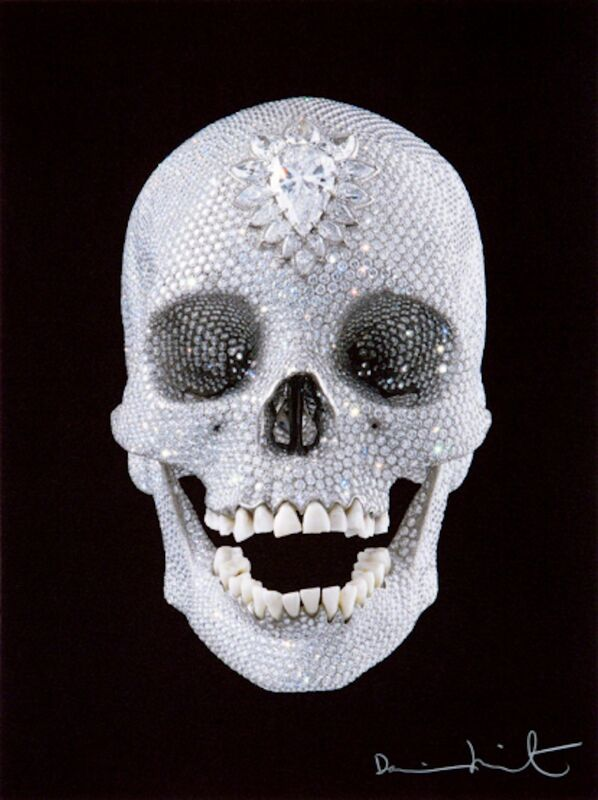 Damien Hirst, 'For the Love of God, Believe', 2007, Print, Screenprint in colors, on wove paper, Upsilon Gallery