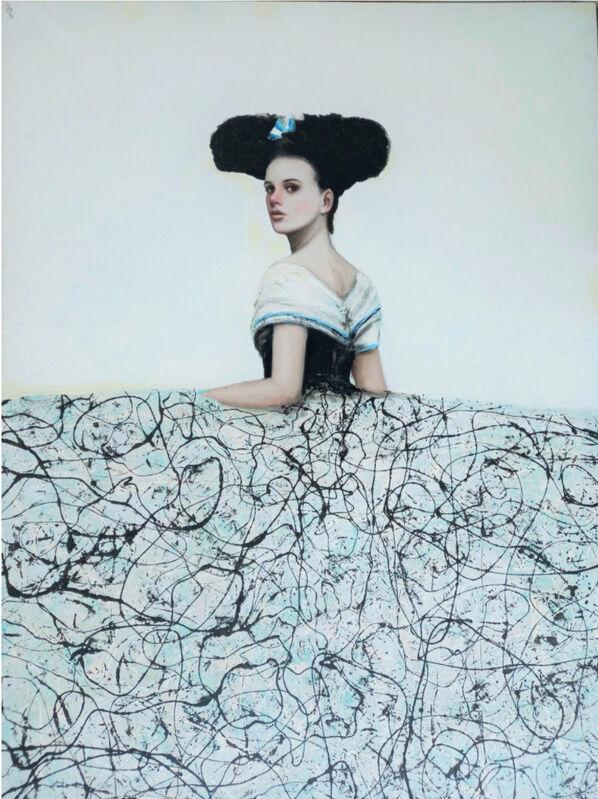 Alfredo Palmero, 'Menina de las Nieves', 2021, Painting, Oil on Canvas, Lily Pad West