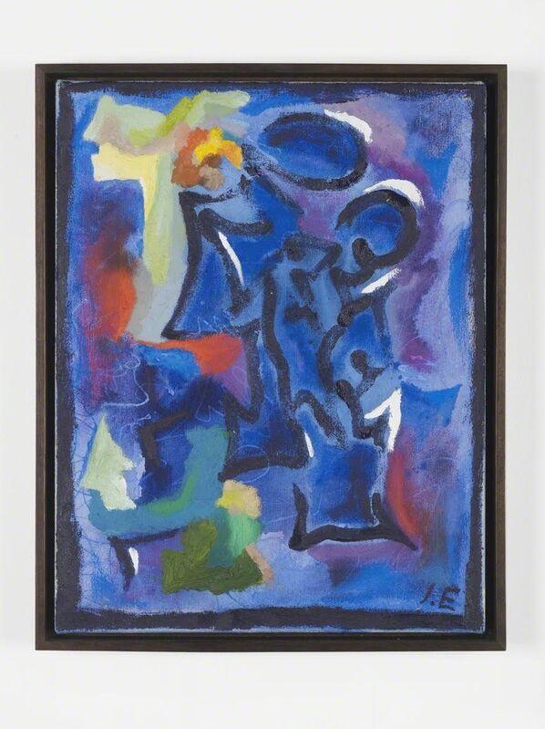 Ida Ekblad, 'Four Winged Dinosaur', 2015, Painting, Oil on canvas, Herald St