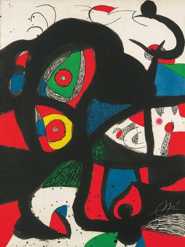 Joan Miró, 'Gargantua', 1977, Print, Aquatints and etchings in colors, Galerie Boisseree