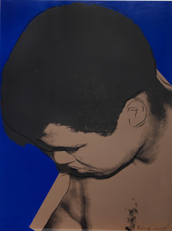 Andy Warhol, 'Muhammad Ali', 1978, Print, Screenprint in colours., Sims Reed Gallery
