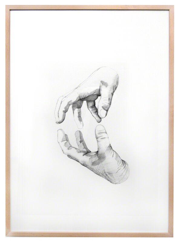 Simon Pfeffel, 'begreifen', 2017, Drawing, Collage or other Work on Paper, Ballpen on paper, galerie burster