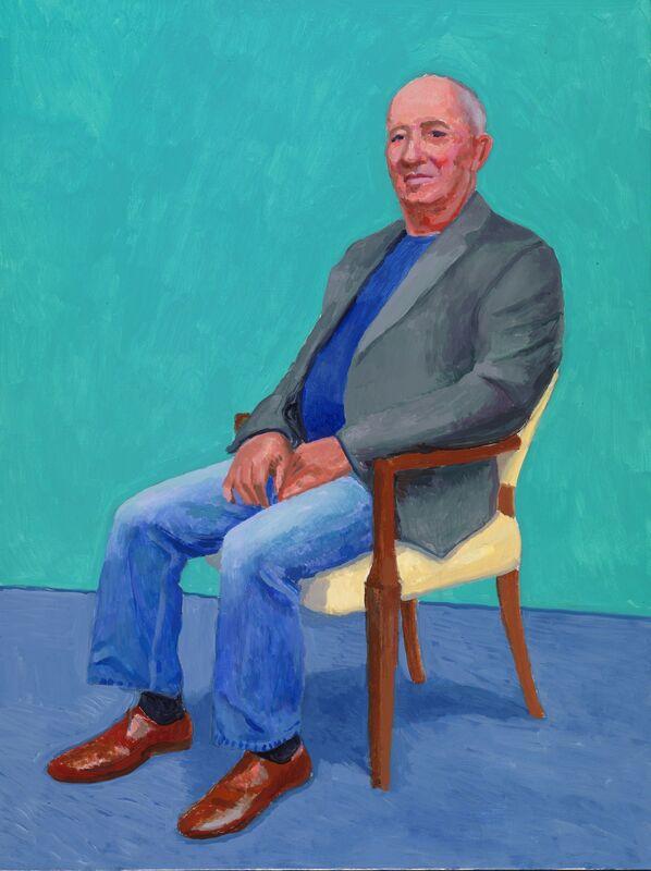 David Hockney, 'David Juda', 2015, Painting, Acrylic on canvas, Royal Academy of Arts