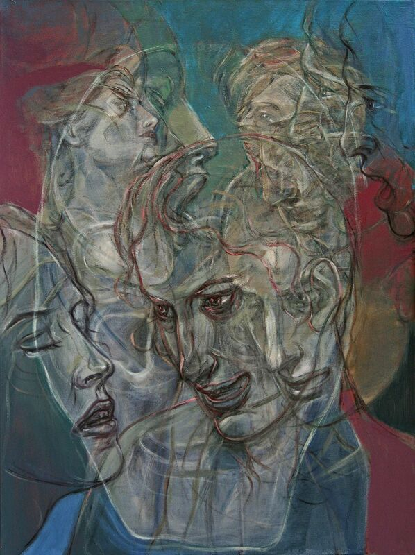 Henri Deparade, 'Jason and Medea', 2018, Painting, Oil on canvas, Accesso Galleria