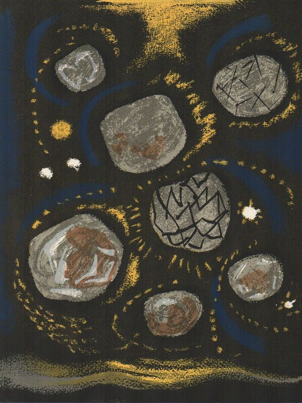André Masson, 'Le Mythe de Sisyphe IV', 1962, Print, Lithograph, Hans den Hollander Prints