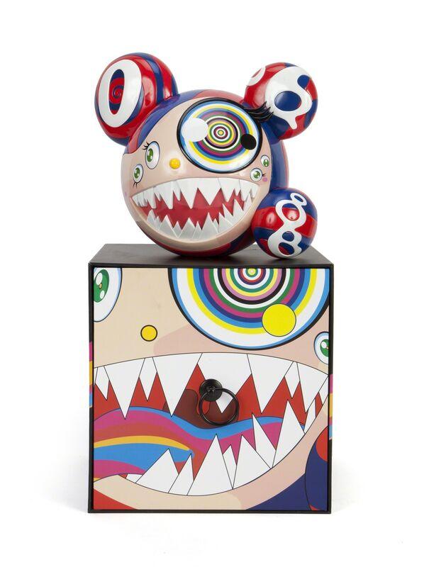 Takashi Murakami, 'ComplexCon: Mr. DOB', 2016, Sculpture, Cast resin polychrome sculpture, Julien's Auctions