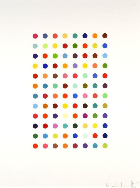 Damien Hirst, 'Xylene Cyanol Dye Solution', 2005, Print, Etching, Vogtle Contemporary