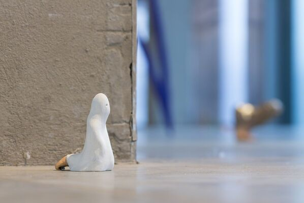 Urs Fischer. Small Axe, installation view