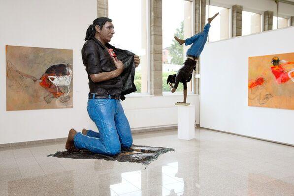 Borders Adel Dauood/Osama Zatar, installation view