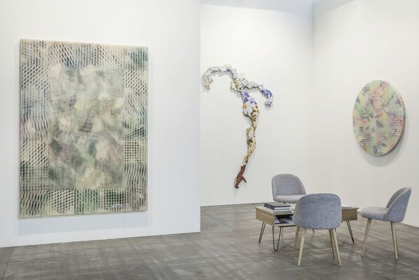 Thomas Brambilla at Artissima 2016, installation view