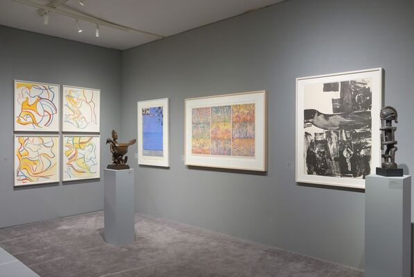 Pace Prints at ADAA: The Art Show 2016, installation view