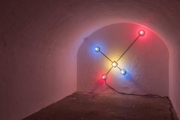 An Irregular Network of Passages, installation view