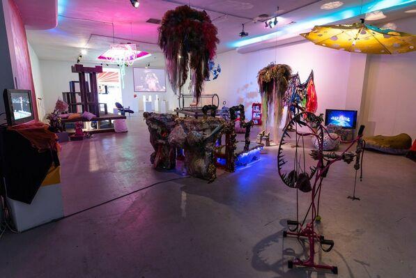 CAVERNOUS: Young Joon Kwak & Mutant Salon, installation view