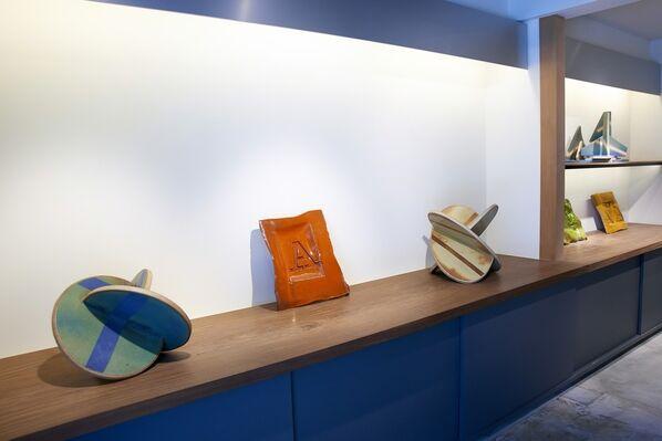 JOHN MASON: A SURVEY, installation view