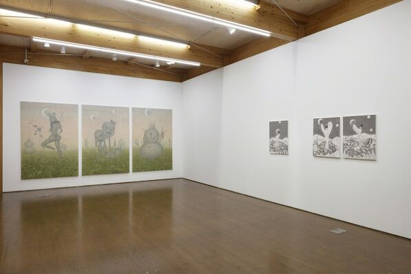 A journey of tears, installation view