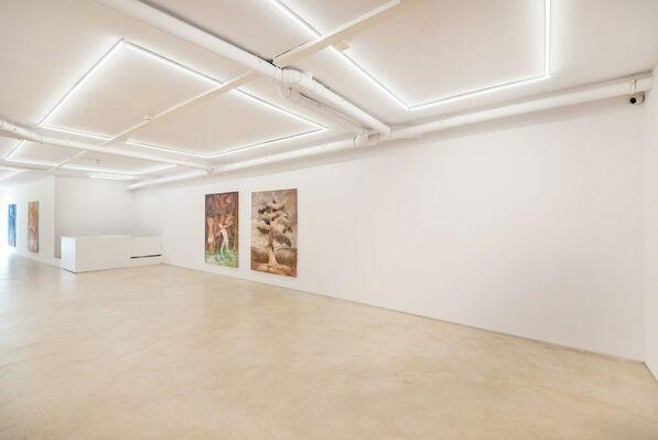 Gerald Davis Paintings, installation view