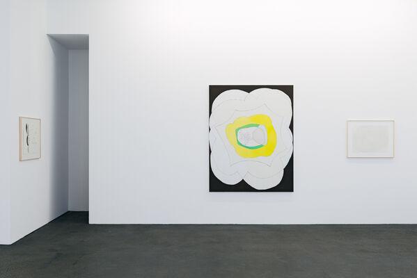 Jürgen Partenheimer »One Hundred Poets« 1. Teil, installation view