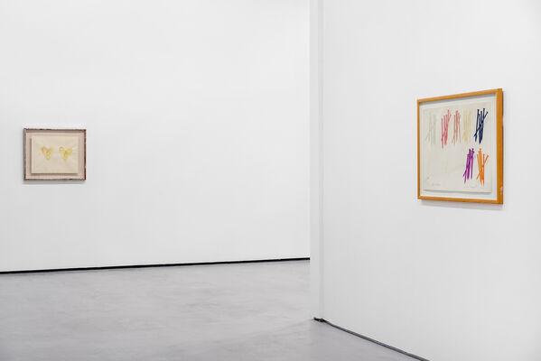 Post - War : Works on Paper, installation view