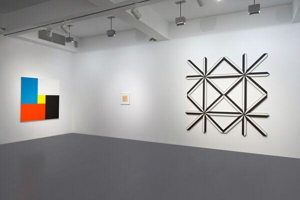 Francis Baudevin, Erica Baum, Stéphane Dafflon, Philippe Decrauzat, Blair Thurman, installation view