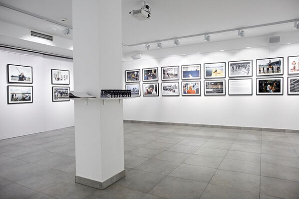 Sportografia, installation view