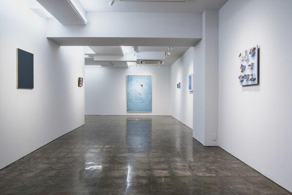 青 / Blue, installation view
