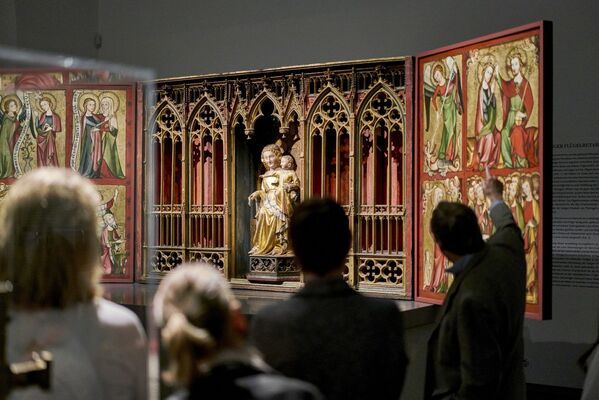 Heaven on Display: The Altenberg Altar and Its Imagery, installation view