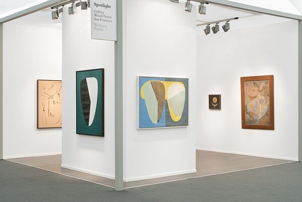Gallery Wendi Norris at Frieze Masters 2016, installation view